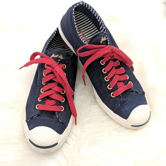 8b42f7af605a7d Converse Shoes - Converse Nautical Jack Purcells Navy Size 9